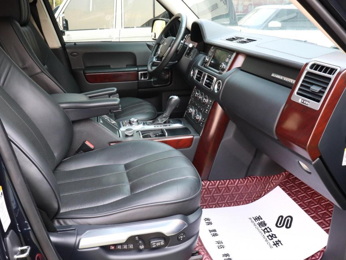 路虎 揽胜  2011款 5.0 V8 SC图片