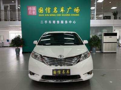 2015年3月 丰田 塞纳(进口) 3.5L 两驱L图片