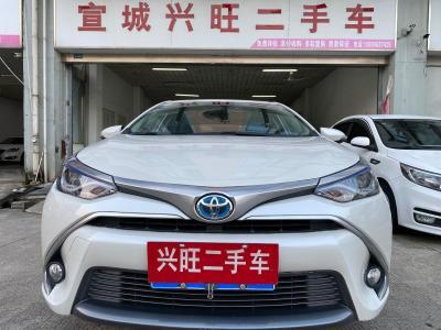 丰田 雷凌双擎E+  2019款 1.8PH GS CVT精英天窗版
