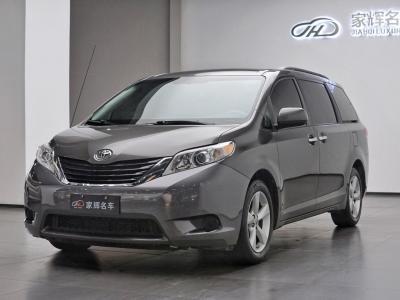 2012年7月 丰田 塞纳(进口) 2.7L 两驱自动型图片