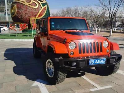 Jeep 牧馬人  2015款 2.8TD Sahara 四門舒享版