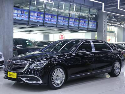 奔馳 邁巴赫S級  2019款 S 450 4MATIC