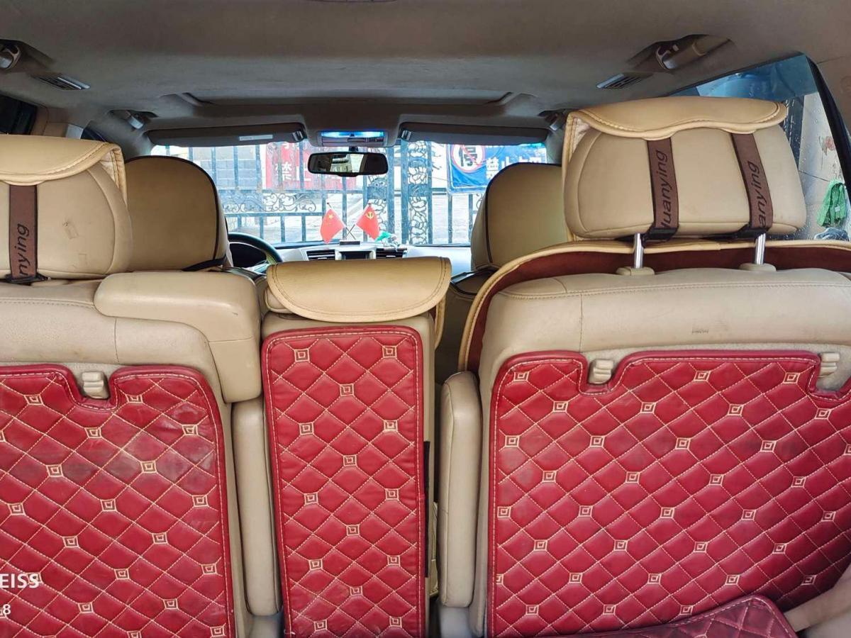 丰田 汉兰达  2009款 3.5L 四驱7座至尊版图片