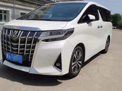 2019年5月 丰田 埃尔法(进口) 改款 3.5L 尊贵版图片