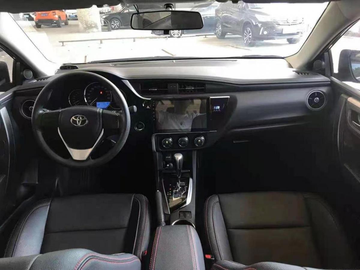 丰田 卡罗拉  2018款 1.2T S-CVT GL智享版图片