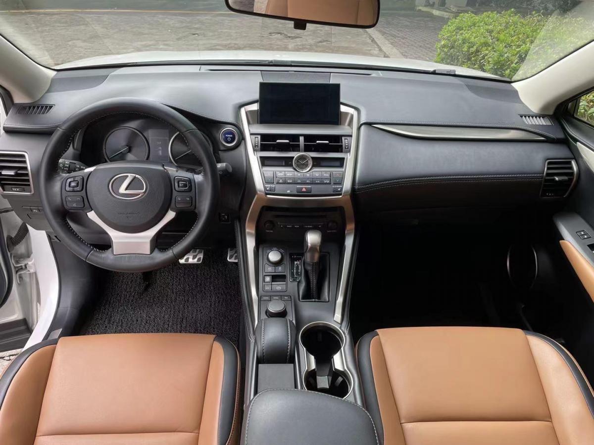 雷克萨斯 NX  2015款 300h 前驱 锋尚版图片