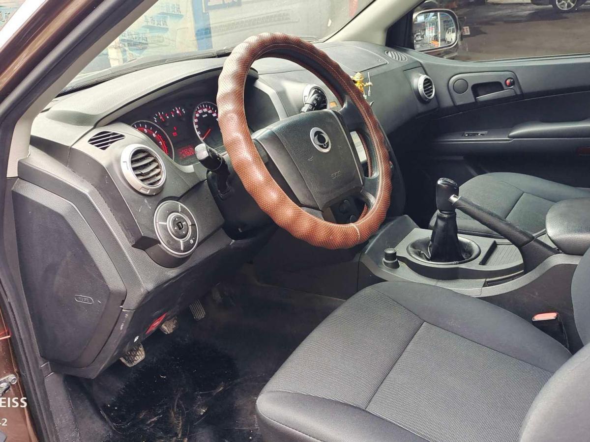 双龙 爱腾  2014款 2.3L 两驱手动进取汽油版图片