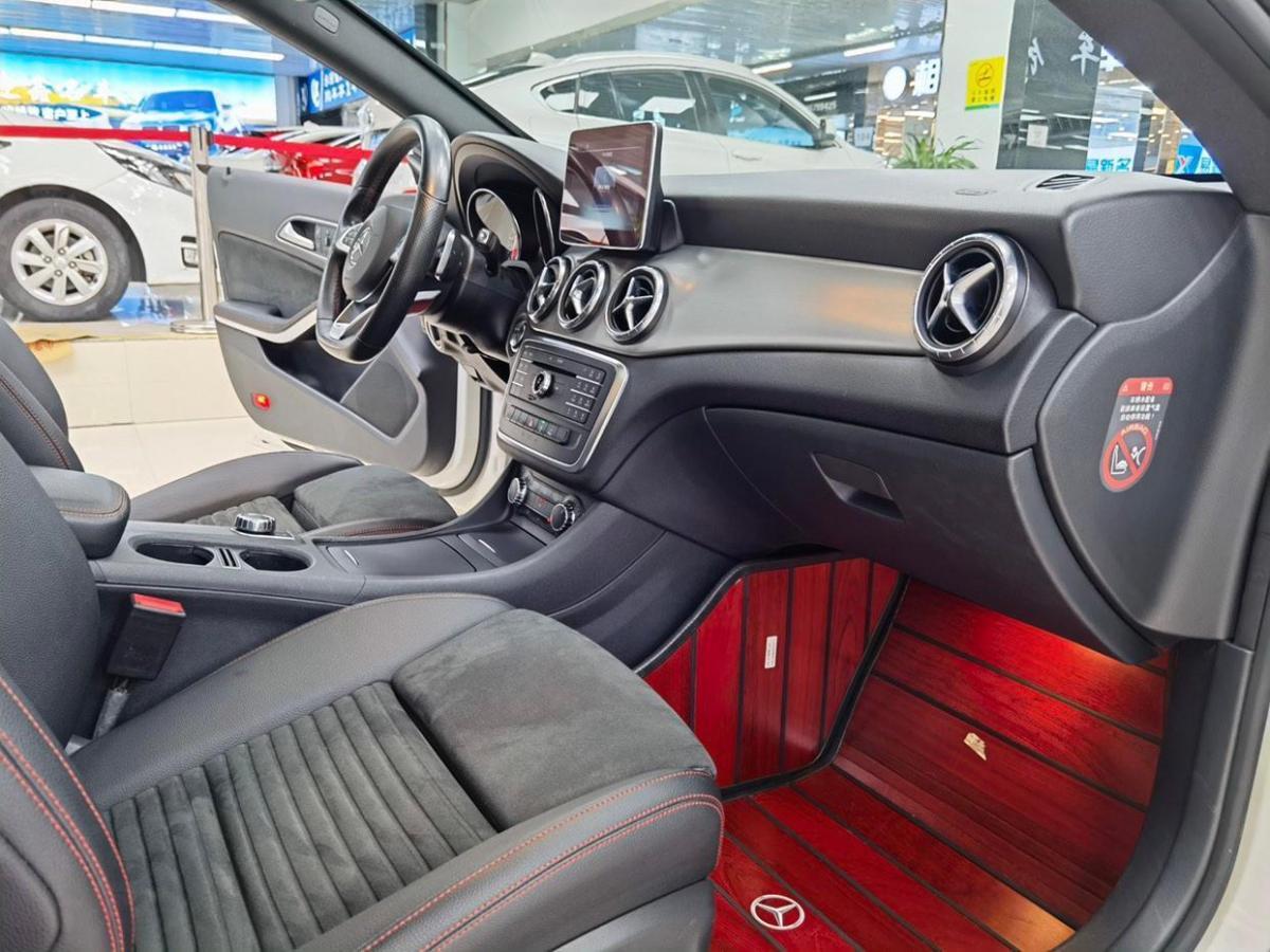 奔驰 奔驰CLA级  2016款 改款 CLA 220 4MATIC图片