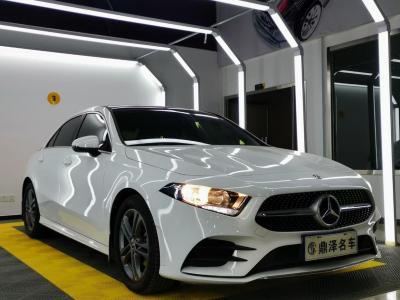 奔驰 奔驰A级  2020款 改款 A 180 L 运动轿车特殊配置