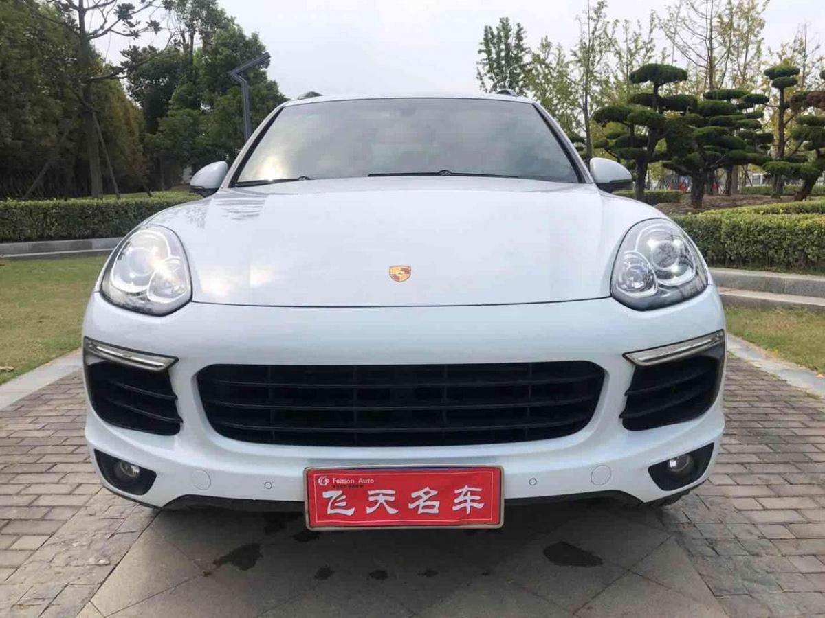 扬州二手保时捷Cayenne2015款Cayenne3.0T手自一体报价59.8万