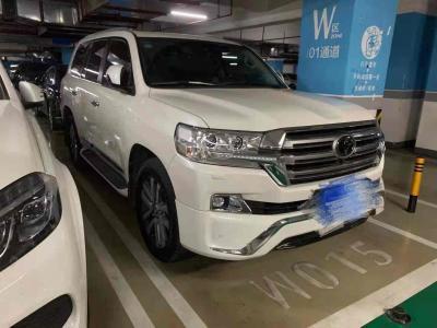 豐田 蘭德酷路澤(進口) 2018款 蘭德酷路澤 5.7L VX-R 12氣 底升(中東)