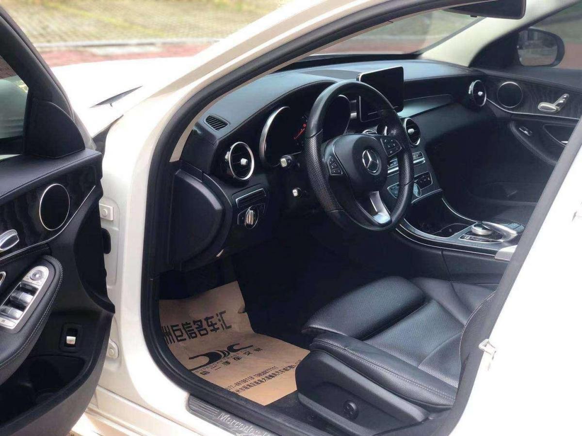 奔驰 奔驰C级  2015款 改款 C 180 L 运动型图片
