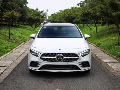 2020年10月 奔驰A级 2020款 改款 A 200 L 运动轿车时尚型 国VI图片