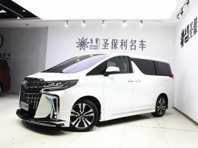 2019年8月 丰田 埃尔法  改款 3.5L 尊贵版图片