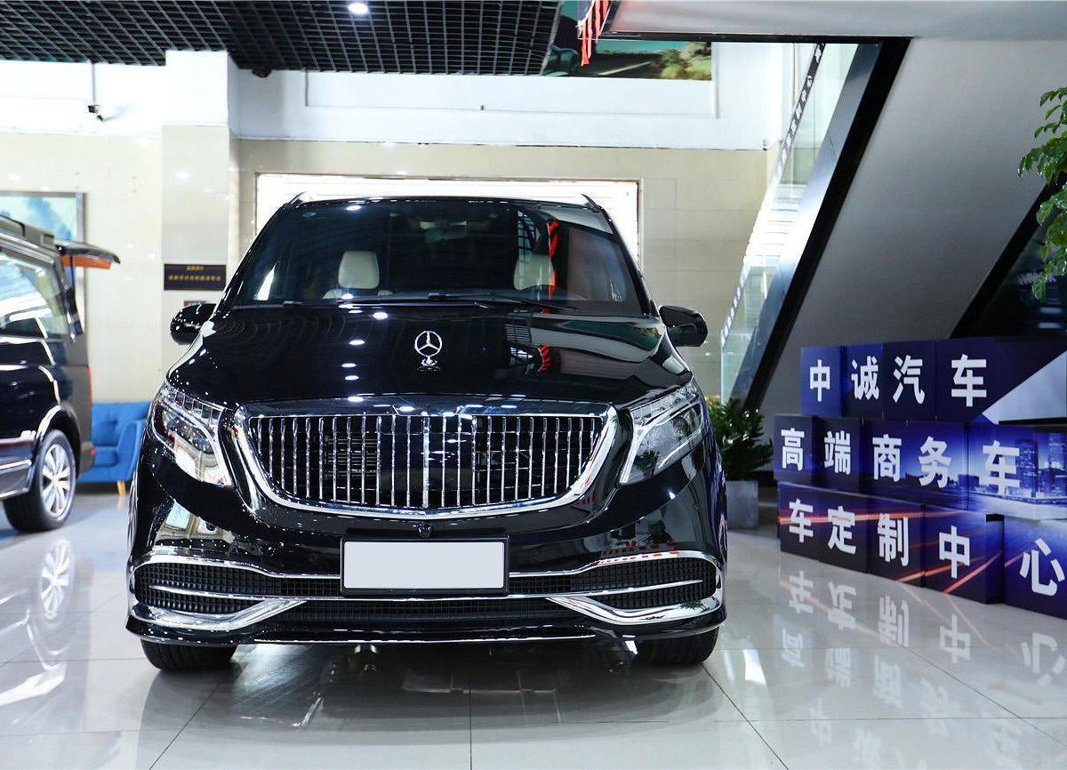 【杭州】未上牌二手奔驰威霆2020款2.0T精英版7座手自一体报价49.8万