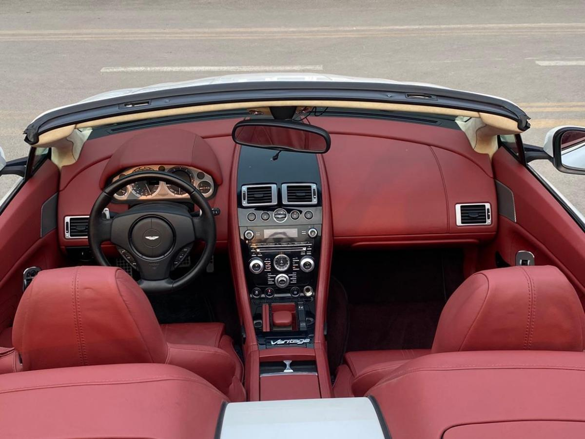 阿斯顿·马丁 V8 Vantage  2012款 4.7L S Roadster图片