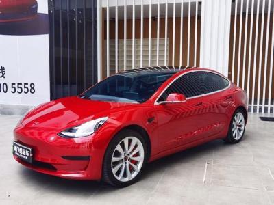 2020年10月 特斯拉 Model 3 标准续航后驱升级版图片