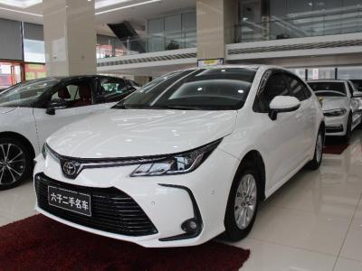 丰田 卡罗拉  2019款 1.2T S-CVT GL-i精英版