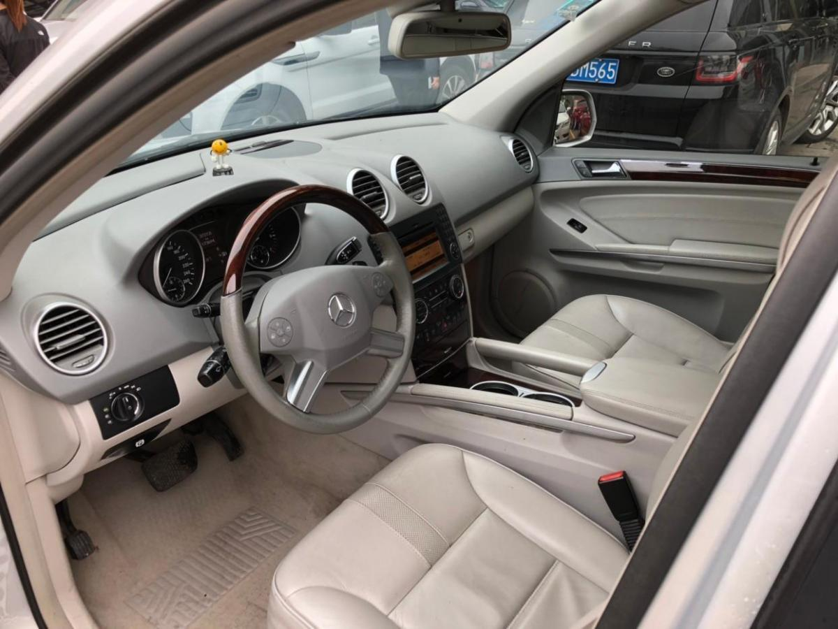 奔驰 奔驰M级  2010款 ML 350 4MATIC豪华型图片