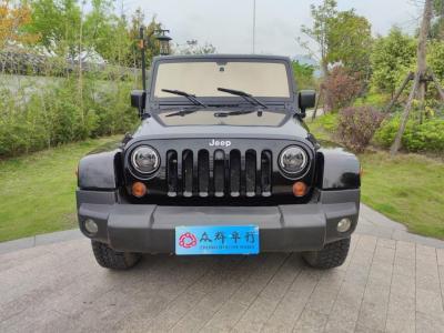 2008年9月 Jeep 牧马人(进口) 3.8L Sahara 四门版图片
