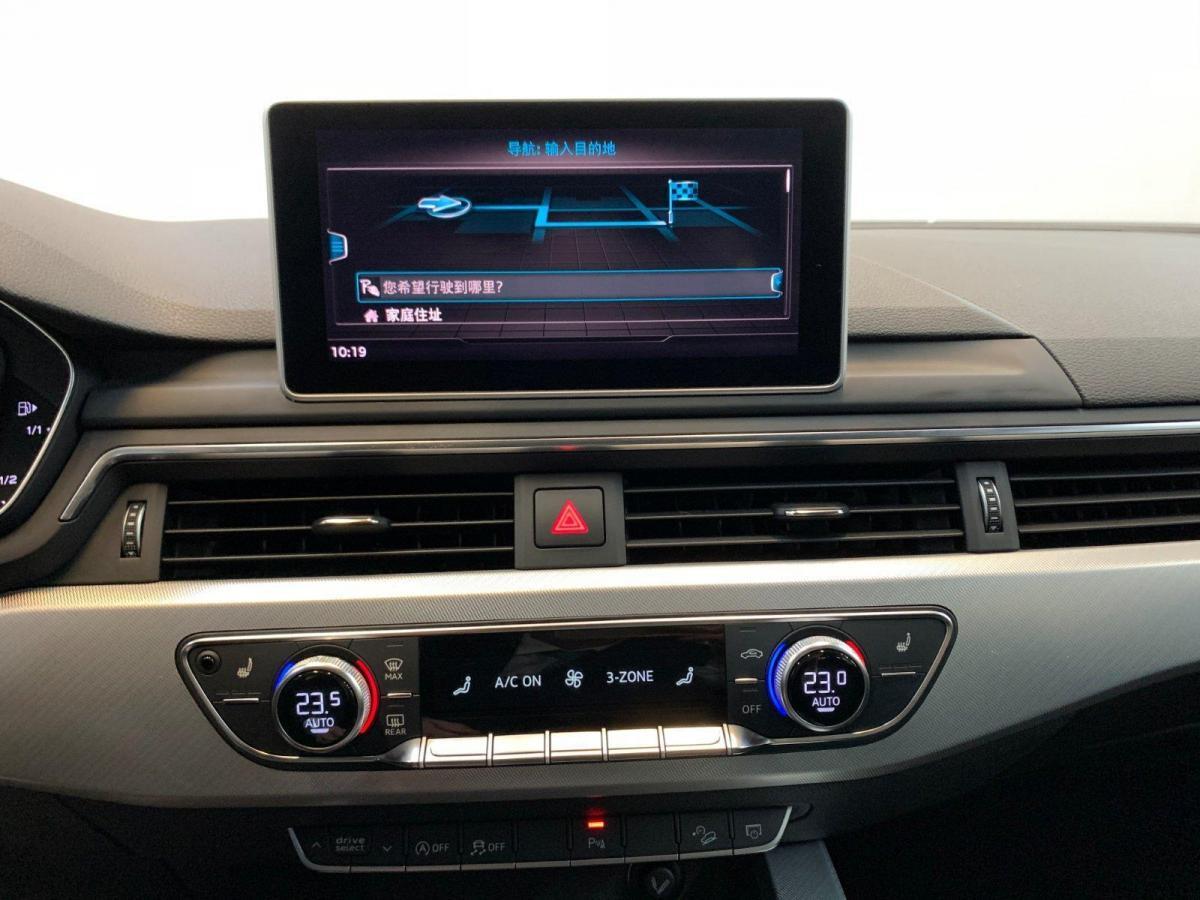 奥迪 奥迪A4  2017款 45 TFSI allroad quattro 时尚型图片