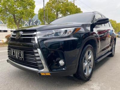 丰田 汉兰达  2018款 2.0T 两驱尊贵版 7座