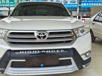 丰田 汉兰达 2.7L 两驱5座运动版图片
