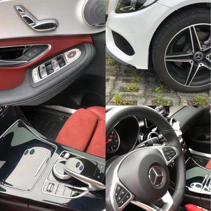 奔驰 奔驰C级  2018款 C 200 运动版 4MATIC图片