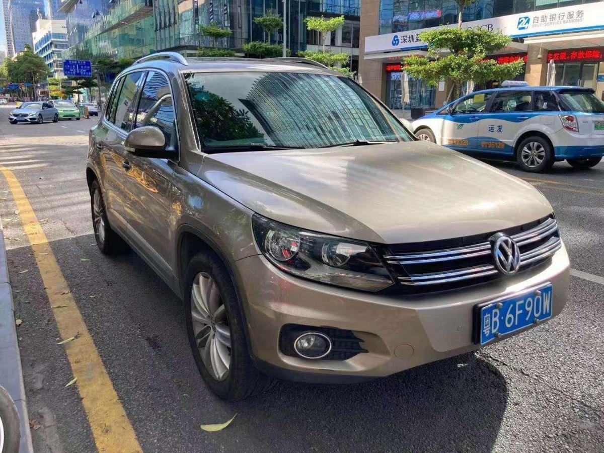 大众 Tiguan  2014款 2.0TSI 专享版图片