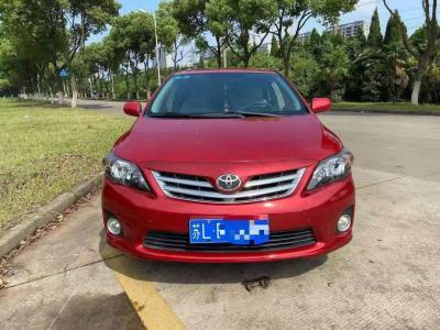 丰田 卡罗拉  2013款 特装版 1.6L 自动至酷型GL
