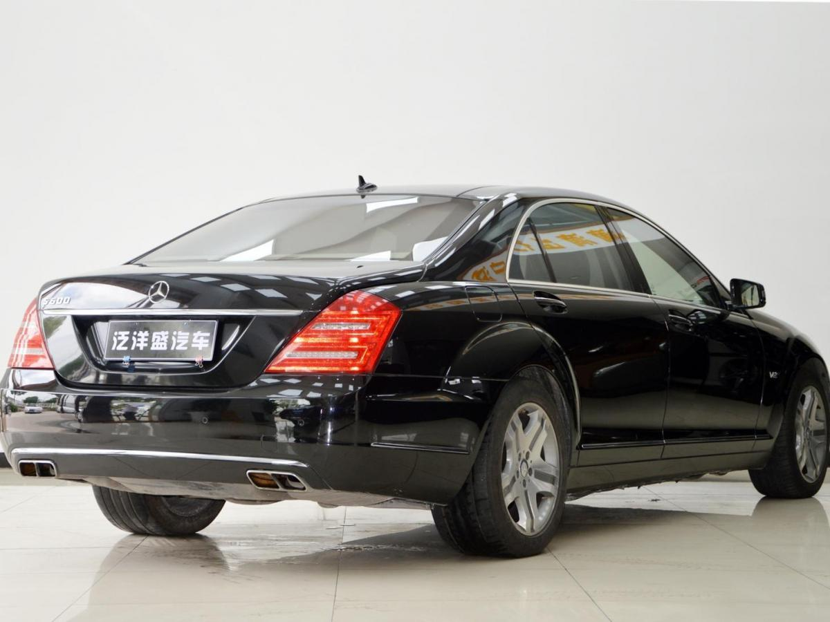 奔驰 奔驰S级  2010款 S 600 L图片