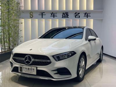 2021年1月 奔驰 奔驰A级 改款 A 200 L 运动轿车时尚型图片