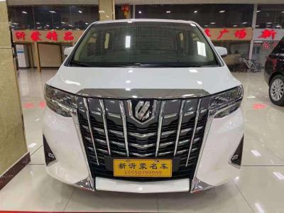 2019年6月 豐田 埃爾法  改款 3.5L 尊貴版圖片