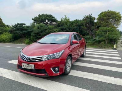 2014年8月 丰田 卡罗拉 1.6L CVT GL图片