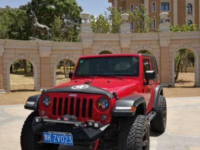 Jeep 牧馬人  2013款 3.6L Sahara 兩門版