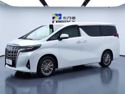 2019年7月 丰田 埃尔法(进口) 双擎 2.5L 尊贵版图片