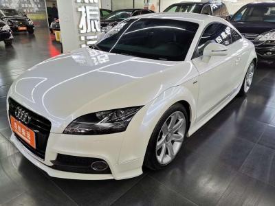 奧迪 奧迪TT  2013款 TT Coupe 45 TFSI 白色經典版