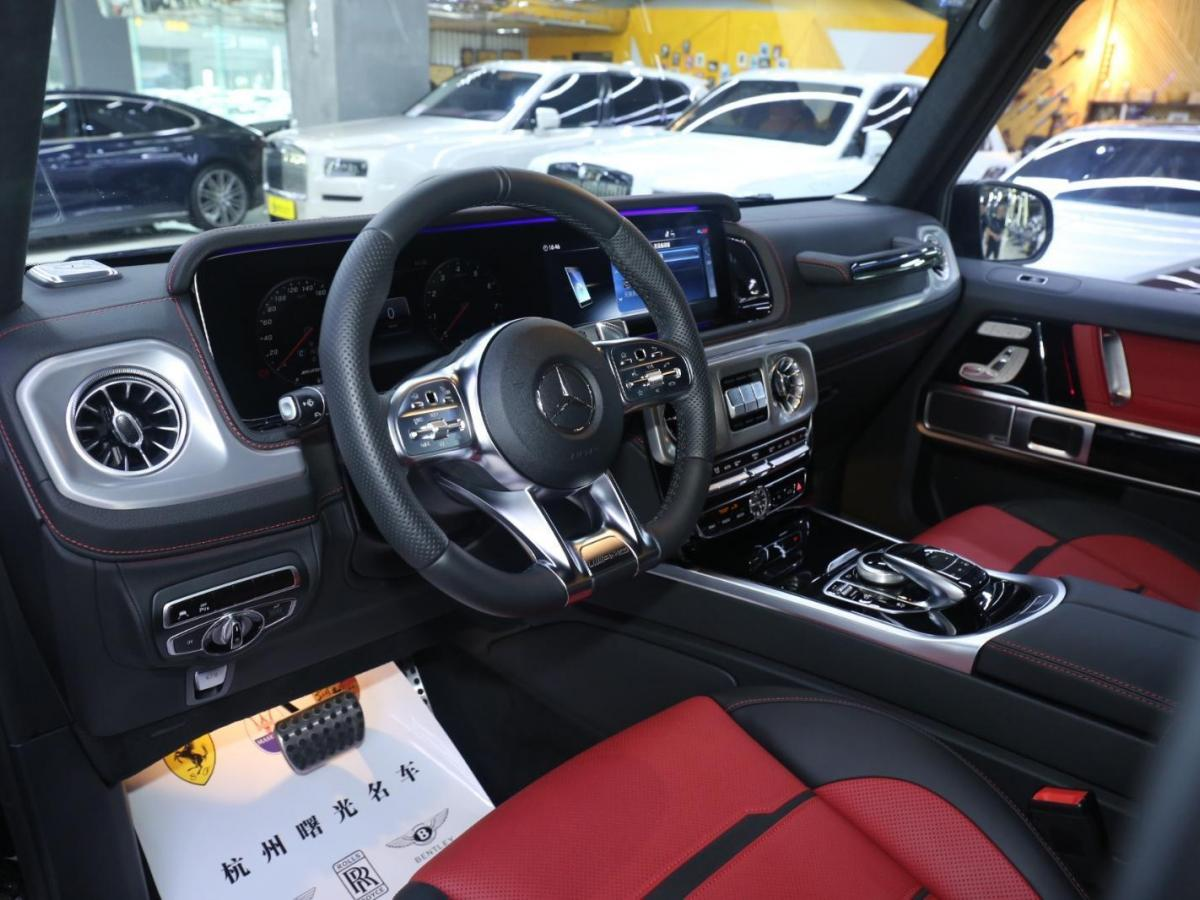 奔驰 奔驰G级AMG  2020款 AMG G 63图片