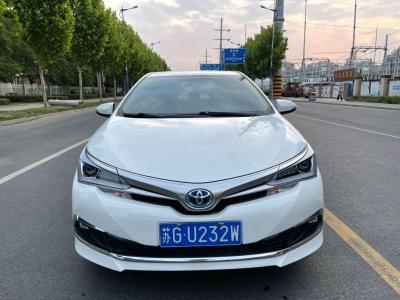 丰田 卡罗拉  2016款 双擎 1.8L CVT领先版