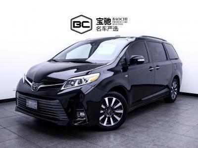 2019年6月 丰田 塞纳(进口) 2019款 塞纳 3.5L 四驱 Limited 7座(加版)图片